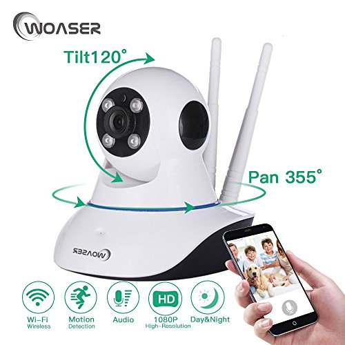 HD IP Camera Wi-Fi Wireless Mini Network Camera Surveillance Wifi 720P Night Vision CCTV Camera Baby Monitor Home Security by woaser