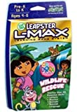: LeapFrog Leapster L-Max Educational Game Dora the Explorer Wildlife Rescue