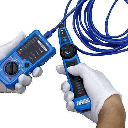 RJ11 RJ45 Cable Tester, LESHP Multifunction Electric Wire Finder Tracker Detector by LESHP (Image #3)