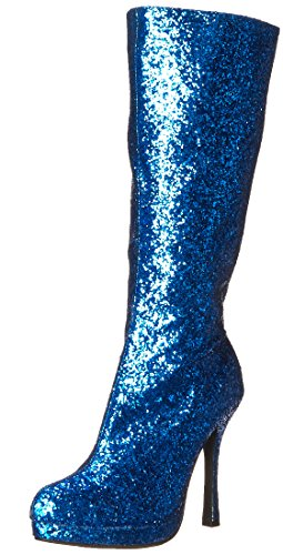 - Ellie Shoes Women's 421-Zara Boot, Blue, 10 M US