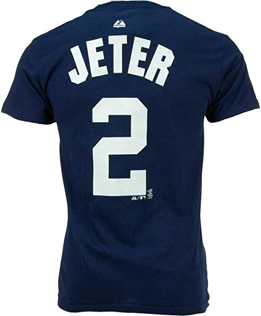Derek Jeter Yankees MLB Prostyle Player T-shirt camisa: Amazon.es: Deportes y aire libre