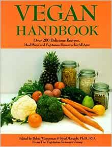 Vegan and vegetarian recipe book