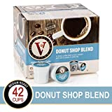 Donut Shop Blend for K-Cup Keurig 2.0 Brewers, 42 Count, Victor Allen's Coffee Medium Roast Single Serve Coffee Pods