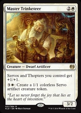 Magic: the Gathering - Master Trinketeer (021/264) - Kaladesh from Magic: the Gathering
