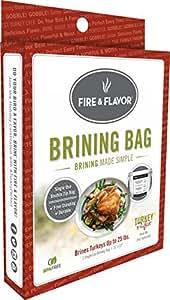 Fire & Flavor Turkey Perfect Brining Bag