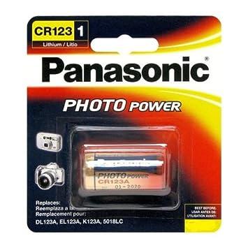 amazon panasonic cr123a cr123 cr17345 4 piles 3v lithium