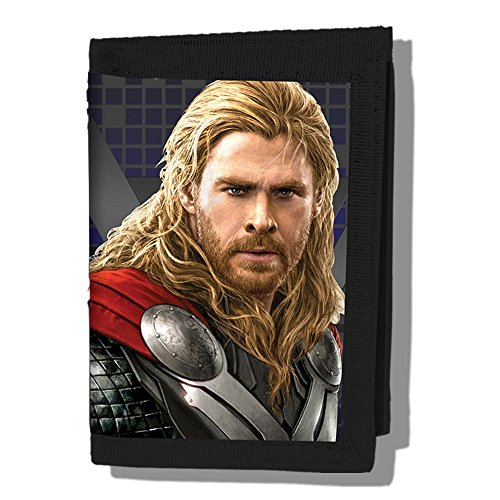Thor Tri-Fold Wallet Standard Black from Marvel