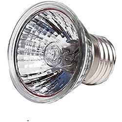 YZ 75 Watt UVA/UVB Halogen Lamp,USA 110V Input Use Full spectrum Reptilian Lamp Lizard Lamp UV Lamp For Reptiles And Amphibians Habitat Lighting