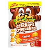 Bear Paws Bite-Sized Cheddar Crackers, 180g (Pack of 12)