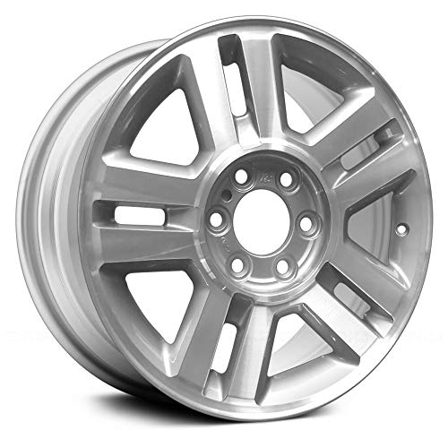 (Replacement Used 18X7.5 Alloy Wheel Silver Fits Ford F-150)