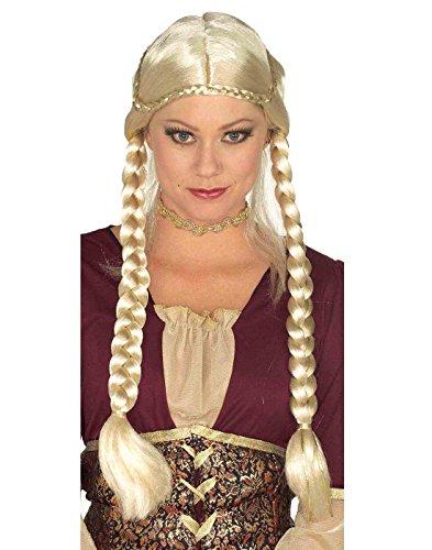 Braided Renaissance Wig (Renaissance Braided Wig Costume Accessory)