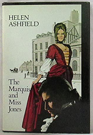 book cover of The Marquis and Miss Jones