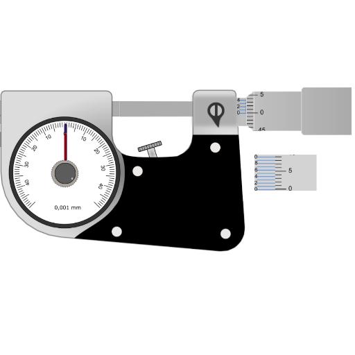 0001 Micrometer - 7