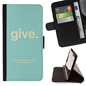 Jordan Colourful Shop - quote Christian god psalm text teal For Apple Iphone 5C - Leather Case Absorci???¡¯???€????€????????&ce
