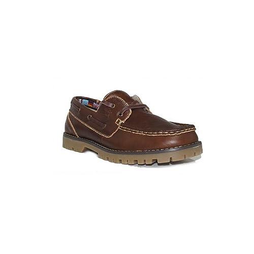 BUBBLE BOBBLE Mocasin Cordon A767-2 Zapatos Mocasines Niño Elegantes de Vestir Marrón
