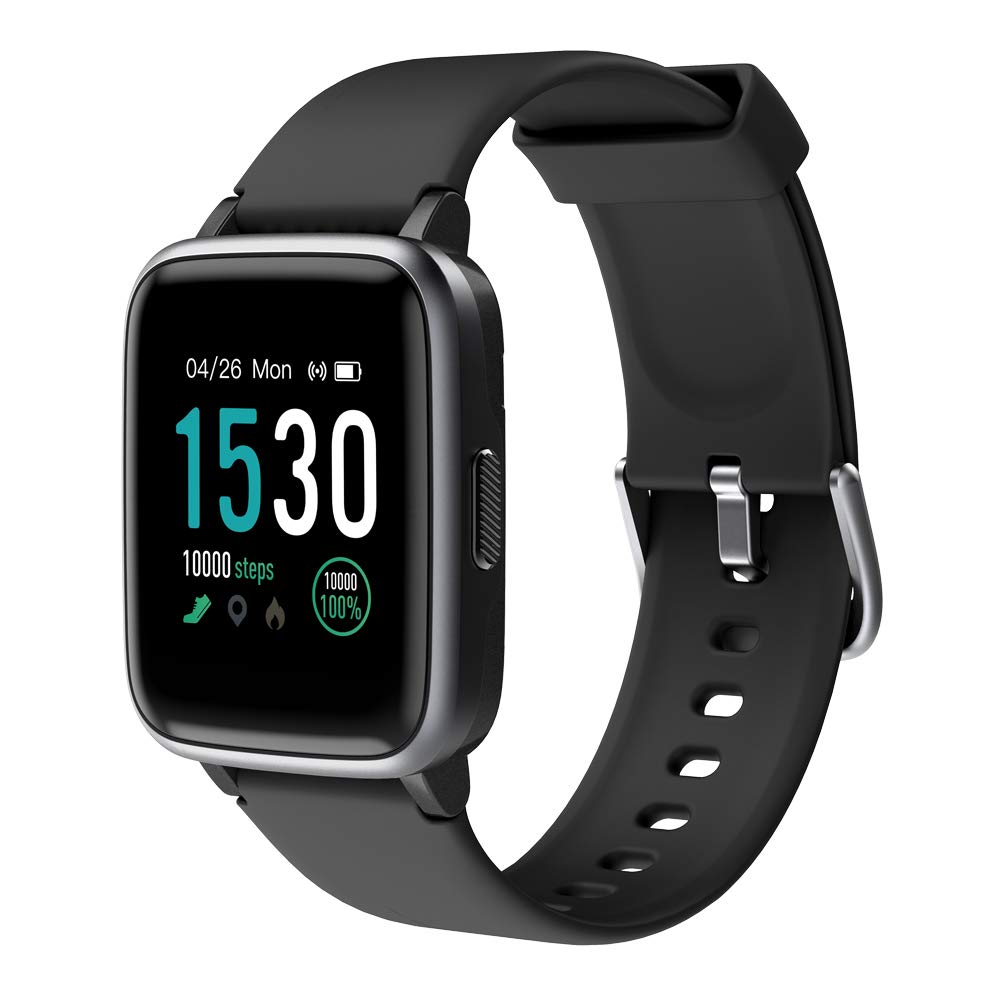 Amazon.com: KUNGIX Smart Watch, Full Touch Screen Fitness ...