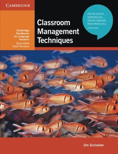 Classroom Management Techniques (Cambridge Handbooks for Language Teachers) from Brand: Cambridge University Press