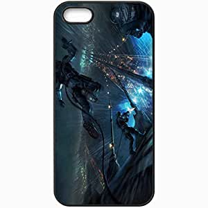 Personalized iPhone 5 5S Cell phone Case/Cover Skin Tom Clancy S Rainbow 6 Patriots Black