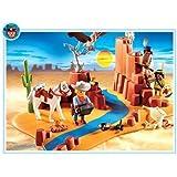Playmobil - 4130 - Western -  Superset Indiens + Cow boy