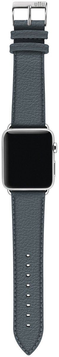 ullu Apple Watch Band for Series 1, 2, 3 & 4 in Premium Leather - Smoke Up - UAWS38SSPL08