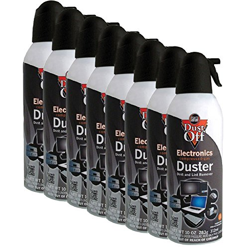 (Falcon DPXL8 Brand New Air Computer TV Gas Compressed Cans Duster 10 oz - 8)