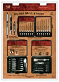 Montana Brand Mb-65944 45 Piece Drill and Drive Set (Made in USA)