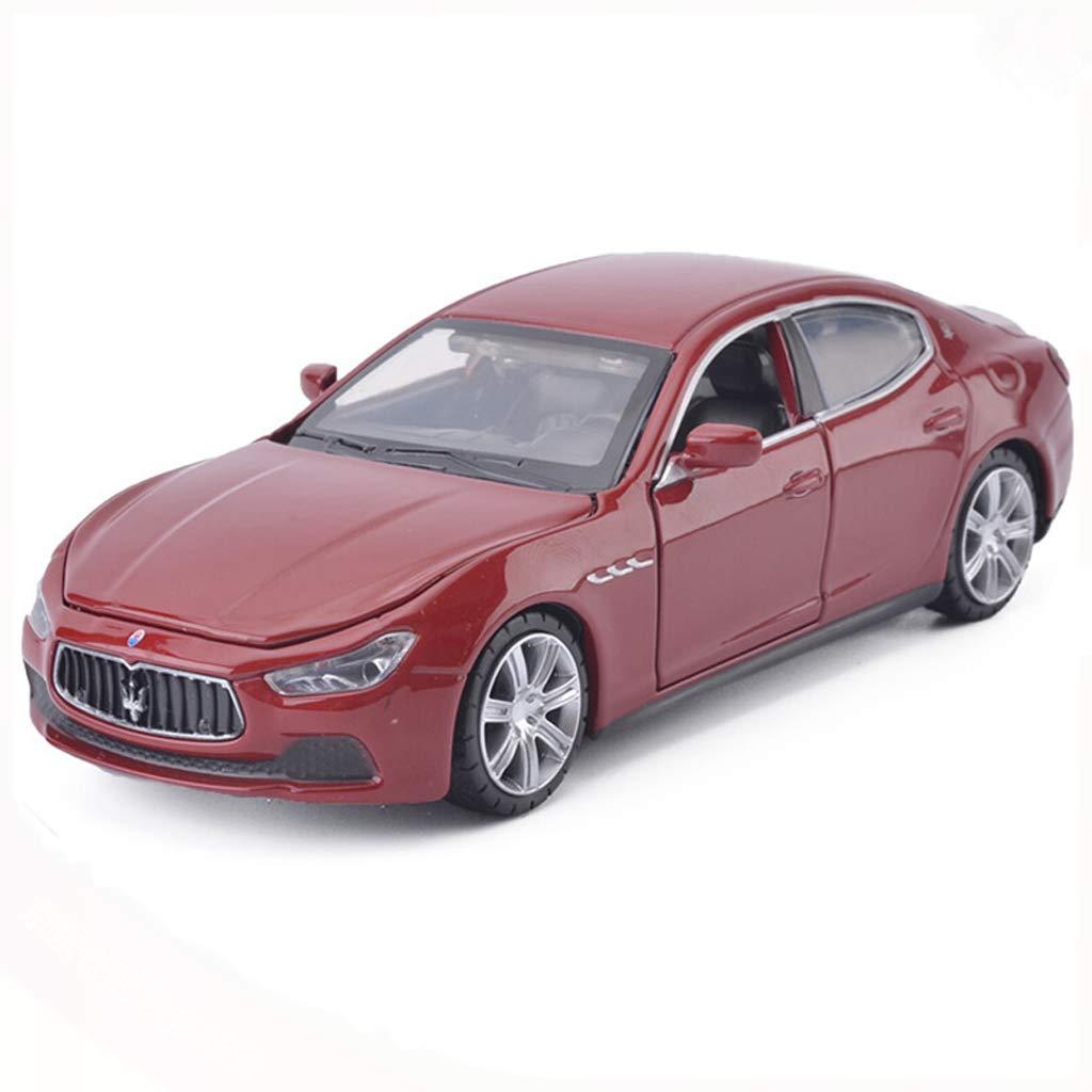 DUWEN Model Car Alloy Car Model 1 32 Maserati Ghibli Car Model Modello di Die Casting Model Gift Car (colore   Rosso)