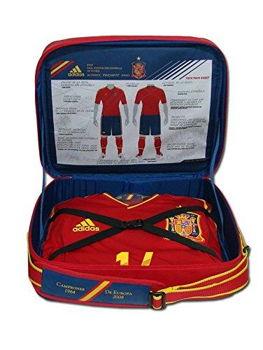 Adidas – ESPAÑA 1ª Camiseta Techfit EDICION Especial Silva 21 EURO12 Hombre