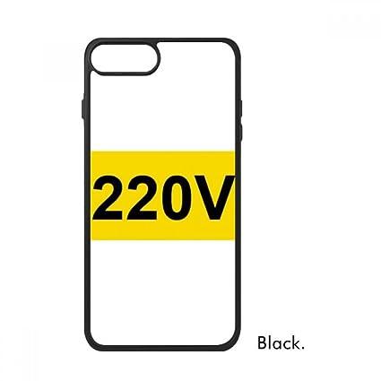 Amazon Socket 220v Warning Sign Symbol For Iphone 88 Plus
