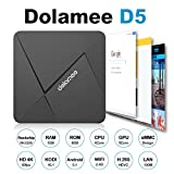 DOLAMEE D5 Android 5.1 TV Box Streaming Media/Movie Player Device [1GB/8GB/4K/H.265/2.4G WiFi] Rockchip RK3229 Quad-core 32Bit with Kodi 16.1