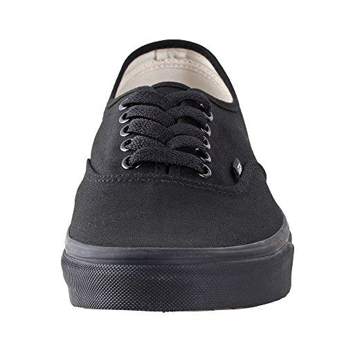 Camionnettes Authentiques Unisexe Skate Formateurs Chaussures Noir / Noir