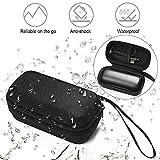 Esimen Hard Headphones Case for Bose SoundSport Free Truly Wireless Sport Headphones Accessories Carry Bag Protective Storage Box (Black)
