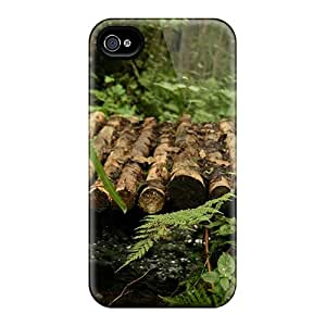 Premium SlR41721nbgM Cases With Scratch-resistant/ Dream Spring Small Bridge Over Creek Cases Covers For Iphone 6
