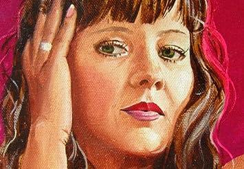 Erotische Malerei ölgemälde Schöne Nackte Frau Mit Gespreizten