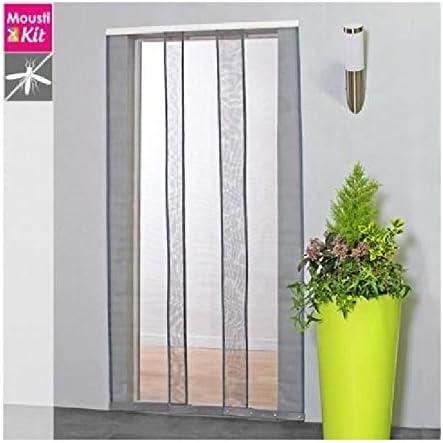 MOUSTIKIT Confort mosquitera Cortina, PVC, Blanco, 100 x 2 x 230 cm: Amazon.es: Hogar
