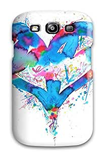 Fashion Protective Abstract Information On 3d Televisions Case Cover For Galaxy S3