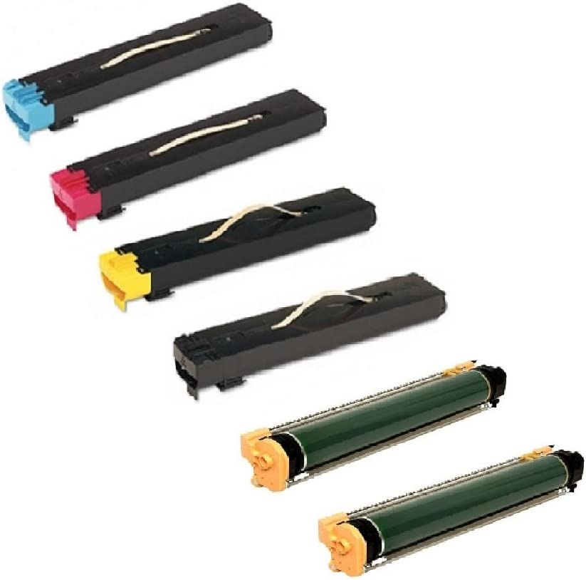 250 WORLDS OF CARTRIDGES Compatible Toner Cartridge Replacement for Xerox 006R01220-006R01222 7675 260 7665 242 7755 7765 252 for Use In WC 7655 7775 /& DC 240 3-Pack: C + M + Y