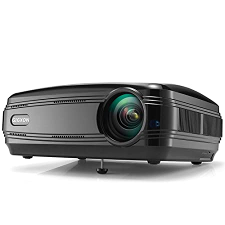 SEXTT Proyector, proyector 1080P LCD LED Full HD 3200 lúmenes ...