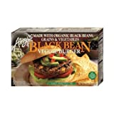 Amys Organic Black Bean Vegetable Burger, 10 Ounce -- 12 per case.