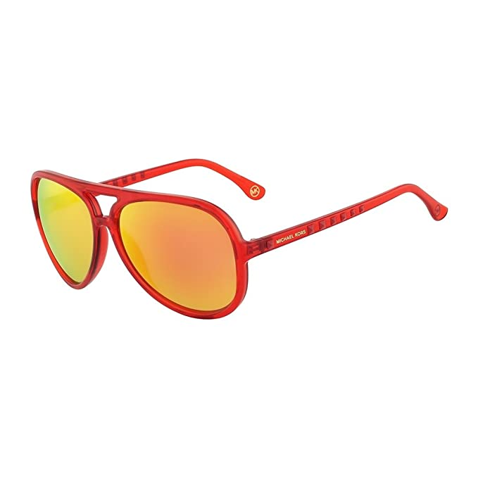 Michael Kors Gafas de Sol M2938S-600 (59 mm) Rojo: Amazon.es ...