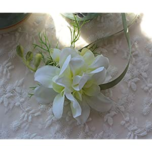 Brial Wrist Corsage Wristband Wedding Flower Artificial Decor Wedding Prom Party 120