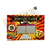 """Pregnancy Announcement Fake Lottery Scratch Off Ticket 4x6"""" Reveal / Announce Pregnancy 1 CARD"""