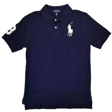 47547ee3 Amazon.com: Polo Ralph Lauren Boys Classic Fit Big Pony Polo Shirt ...