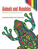 Animals and Mandalas: Hand drawn art to colour and frame (English Edition)