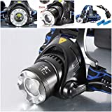 1 Set Transcendental 2000LM Headlight Rechargeable Brightness Lamp - Best Reviews Guide
