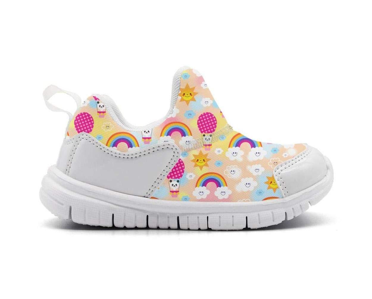 ONEYUAN Children Bear Panda Kid Casual Lightweight Sport Shoes Sneakers Running Shoes