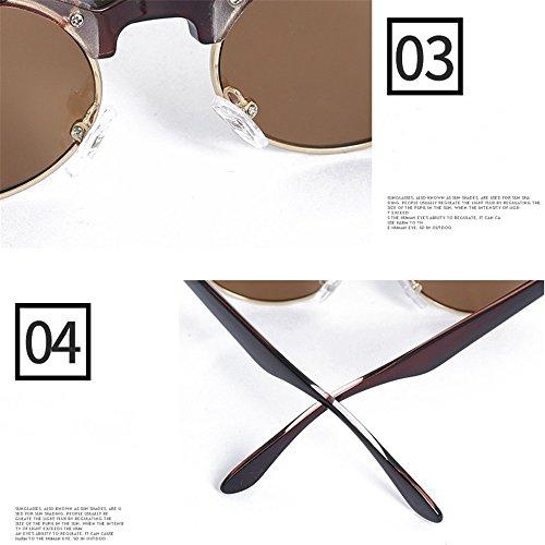 y nuevas super general gafas sol polarizado gafas de Retro de Espejo hombre sol C sol suaves polarizador haixin mujer TR 8wq6IpPYx