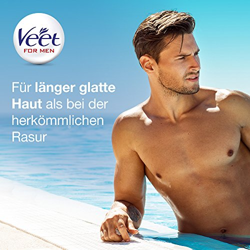 Veet for Men Hair Removal Gel Creme 200ml (1) by Veet (Image #5)
