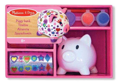 Decorate Your Porcelain Piggy Bank