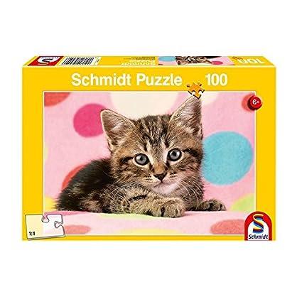 Schmidt Cute Kitten Jigsaw Puzzle (Piece 100),,